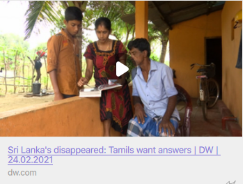 German's Media Reports the Suffering of Vavuniya Mothers of Missing Children