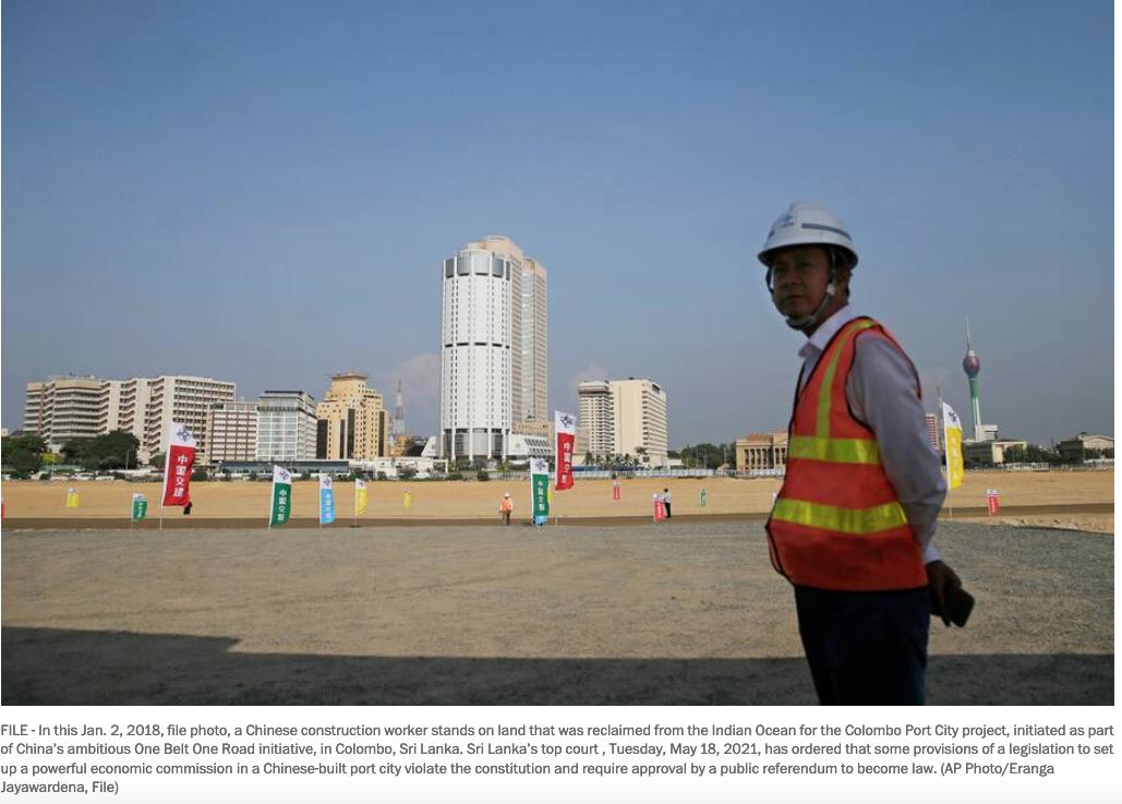 Court: China-built Port City commission needs public assent